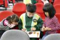 107學年度1070103六年八班、幼兒園大手牽小手閱讀推展活動