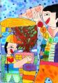 108學年度靖園美術季主題宣導繪畫甄選得獎作品