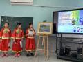 1100305藝術光點校園藝文攜手計畫-楊興生畫展開幕